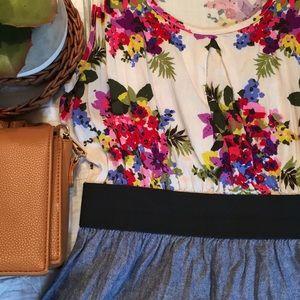 Francesca's Floral Print Dress